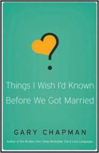 Things I wished before we got married